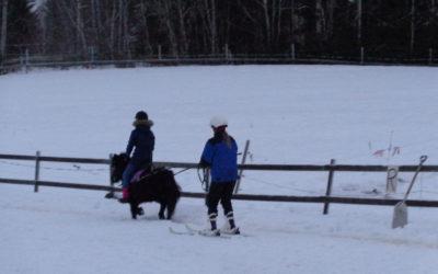 Talvista tekemistä ajotunteja ja talvilomapäiväleiri.